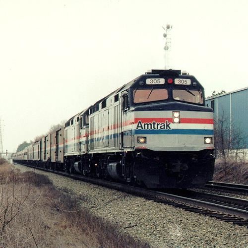 Silver Star Amtrak Train. Columbia, SC