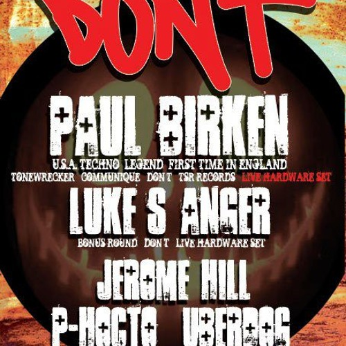 LUKE'S ANGER - LIVE IN LONDON (DON'T 26/10/12)