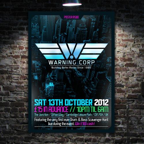 Warning: 13th October 2012