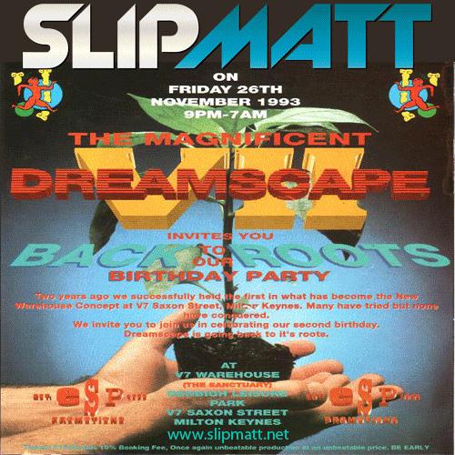 Slipmatt - Live @ Dreamscape 7 26-11-1993
