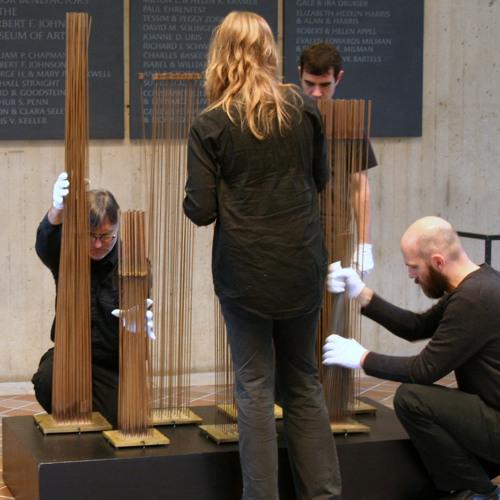 CAGE / Bertoia sculptures performance, excerpt 2
