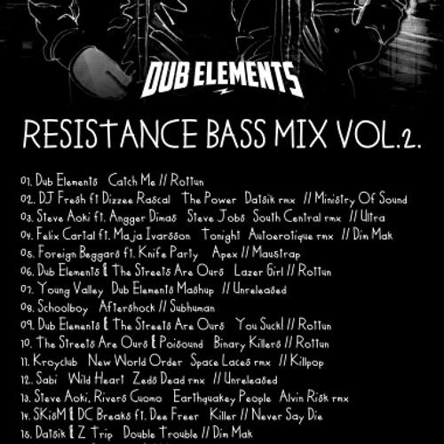 DUB ELEMENTS - RESISTANCE BASS MIX 002