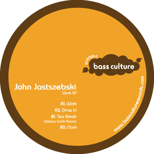 "John Jastszebski - Preview ""Work"" Ep on Bass Culture"