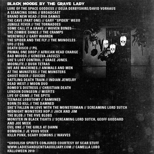 Tropic of Cancer - 'Black Moods' Mixtape
