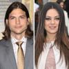 Ashton Kutcher & Mila Kunis, Apr 17, 2012