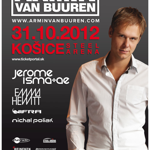 Nifra live @ Halloween night with Armin van Buuren, Kosice, Slovakia (31.10.2012)