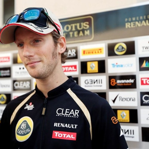 Romain Grosjean on the 2012 Abu Dhabi GP