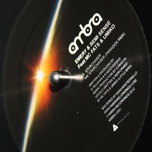Emery & Semi Sense - Starchaser (ft MC Fats & Umiko) (AMBRA12001)