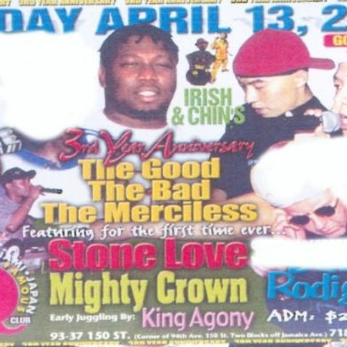 Mighty Crown V Rodigan v Stone Love@ Q Club Queens  NY 13.4.01