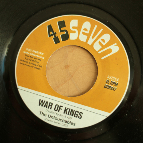 The Untouchables - War Of Kings (4572AA)