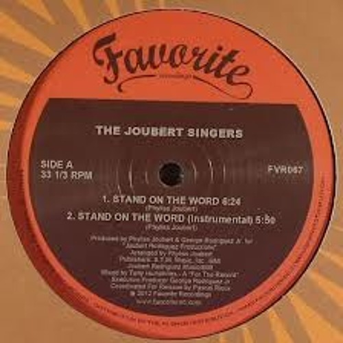 Joubert Singers - Stand On The Word - Tony Humphries Mix