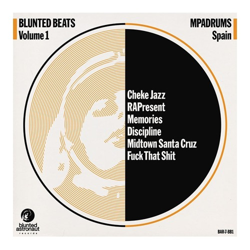 Blunted Beats Vol.1 Featuring MPadrums // 7""