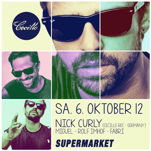 Rolf Imhof DJ-Set @ Club Supermarket 06.10.2012 (Warm-up for NICK CURLY)