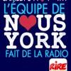 Manu Payet et l'équipe du film NOUS YORK font de la radio