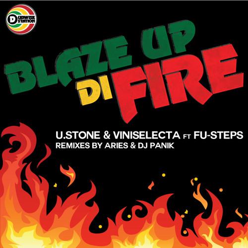U.Stone & ViniSelecta ft Fu-Steps - Blaze Up Di Fire - Aries Jungle remix - clip