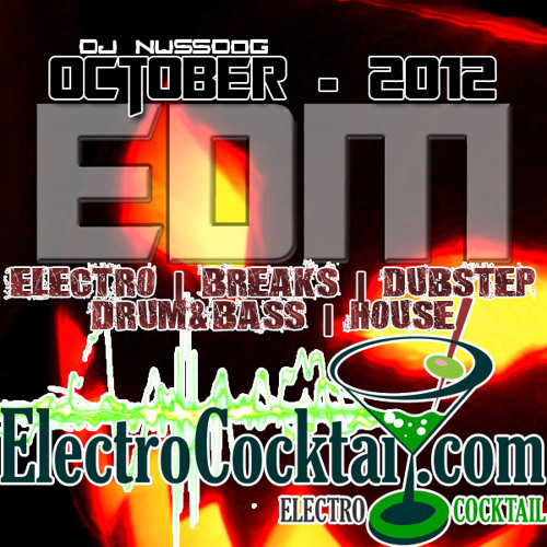 Electro Cocktail October 2012 Mix