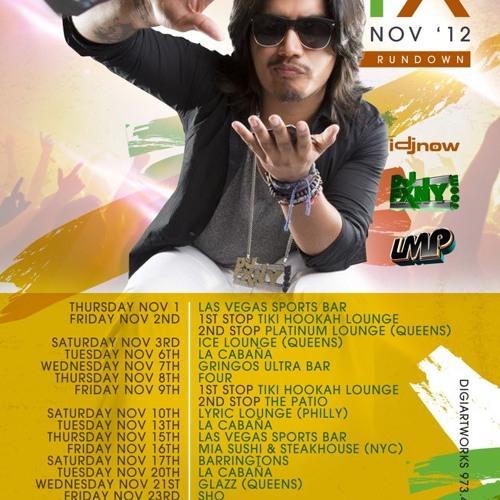 House Mix Nov 2012 LMP #instagram @DjFXny
