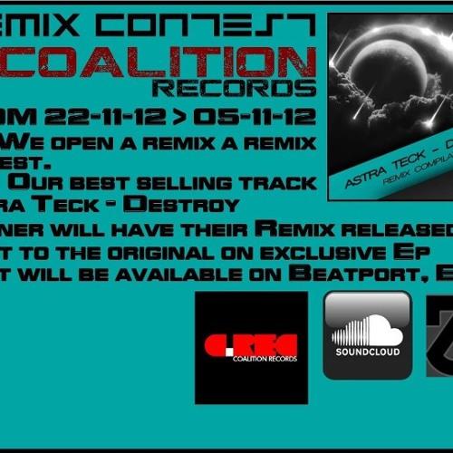 Astra Teck - Destroy (deGameschranz Rmx) //Coalition Records