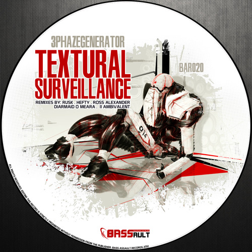 BAR020 // 3Phazegenerator - Textural Surveillance (Diarmaid O Meara remix)