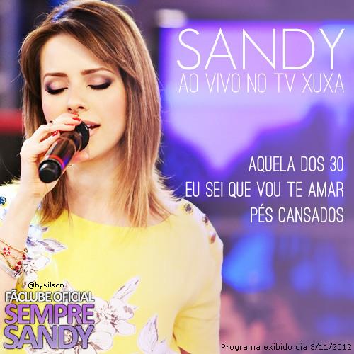 Sandy Leah - Eu sei que vou te amar (TV Xuxa)