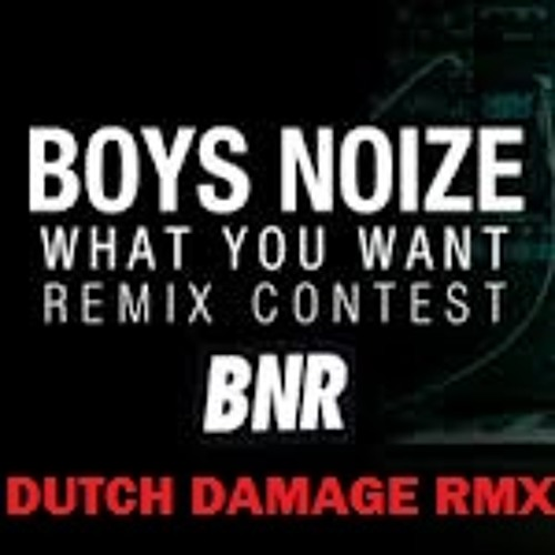 Boys Noize - What You Want (Dutch Damage You Want to Moombah Remix) [CONTEST ENTRY VERSION]