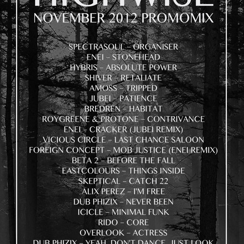 November 2012 Promomix