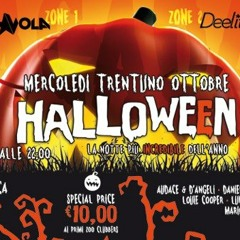 Luj the Admiral@Deelite club - Halloween party with Speedy J, Butch and Tommy Vee 31.10.2012