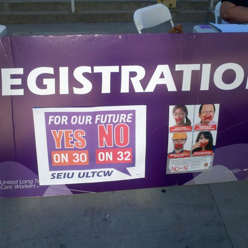 Last-Minute Election Push From Organized Labor in Los Angeles