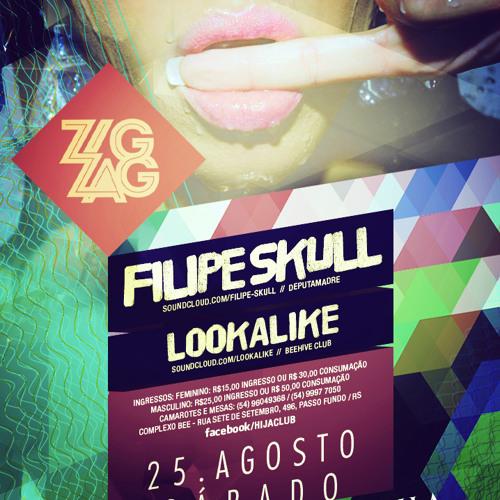 warm up Filipe Skull live @ ZigZag - Hija Club