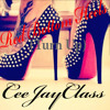 CeeJayClass- Red Bottom Heels (Turn Up)