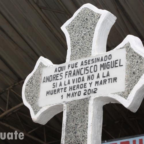 Testiga de la represion en Santa Cruz Barillas da declaraciones sobre lo sucedido 060512