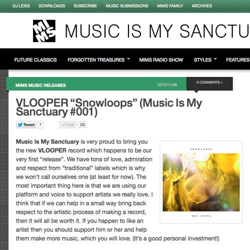 MIMS / Vlooper - Snowloops - 10 V Chebang