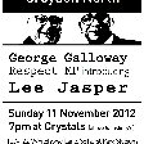 01 Respect Party Launch Sunday 11th Nov Crystals Whitehorse Lane Selhust Park
