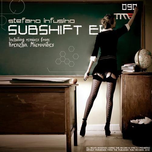 Stefano Infusino SUBSHIFT EP [TMM Records] incl. Krenzlin, Microvibez RMXS