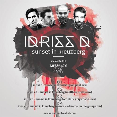 Idriss D - Sunset In Kreuzberg (Original Mix)_PREVIEW
