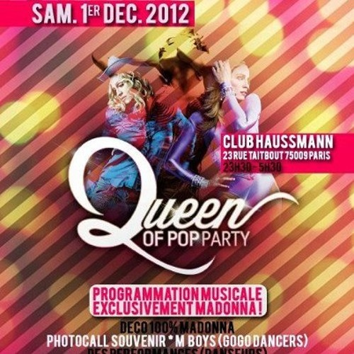 Madonna - Give Me All Your Luvin' (Guyom's Queen Of Pop Party Special Remix)