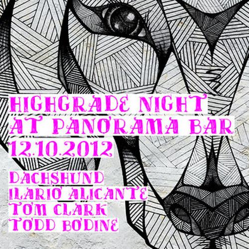 Dachshund @ Panorama Bar - 12.10.12