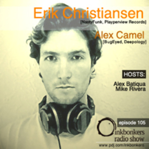 Erik Christiansen - Mix for Inkbonkers Radio Show (Russia) : October '12