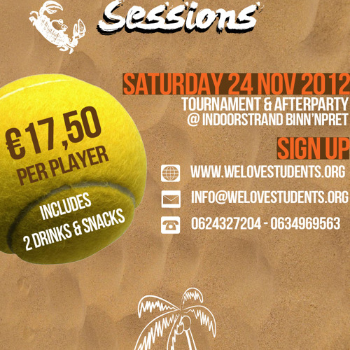 Beach Tennis Sessions Promo