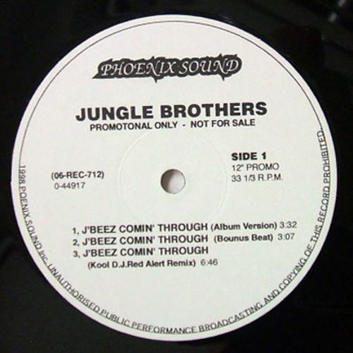 Jungle Brothers - J Beez Comin' Through (Remix) (1990)