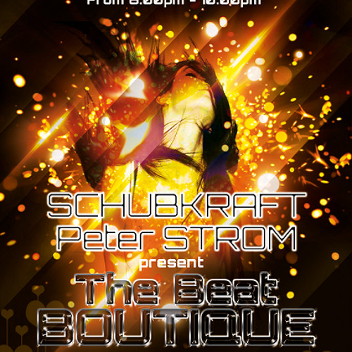 Peter STROM - The Beat BOUTIQUE 004 - exclusive mix for stromkraftradio.com