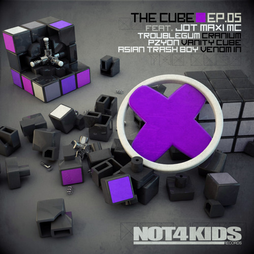 THE CUBE EP05 - Troublegum / Pzyon / Asian Trash Boy / Jot Maxi MC