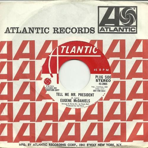 Eugene McDaniels - Tell Me Mr. President