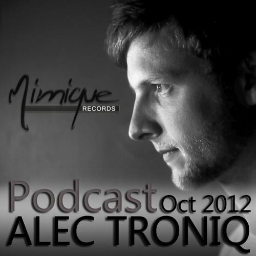 Mimique Podcast Oct 2012 - ALEC TRONIQ