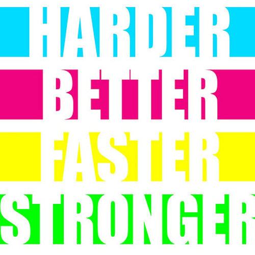 HARDER BETTER FASTER STRONGER (J-Case RMX)