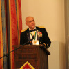 Maj. Gen. Quantock, guest speaker at the Military Police Ball
