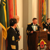 Col. Bisacre's opening remarks at the Military Police Ball 2012