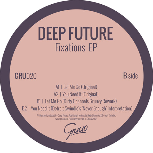 Deep Future - You Need It (Detroit Swindle's 'Never Enough' Interpretation)