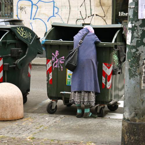 Despondent Panhandler, Turin