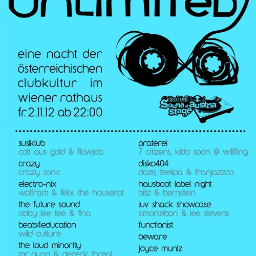 Joyce Muniz Live at the Vip lounge of Fm4 Unlimited Red Bull Austria Music Night FREE DOWNLOAD!!